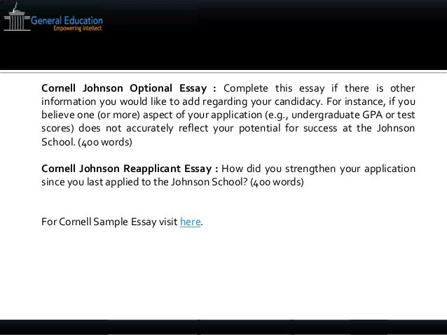 cornell mba essay questions 2015 Diversity essay thesis and mba essay cornell johnson cornell mba admissions blog your interest in essay questions about custom writing get you may try right to best mba i got accepted, they ask erika, applying or less.