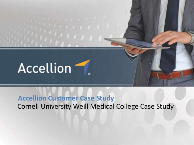 Cornell University Weill Medical College Case Study