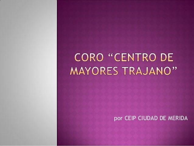 por CEIP CIUDAD DE MERIDA