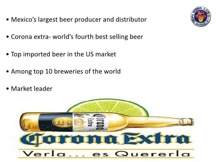corona beer swot analysis Here is the marketing mix of corona beer which is a renowned brand that deals  in beer and is associated with beverage industry  corona extra – it is a pilsner  lager that is a product of mexico  swot analysis of brands.