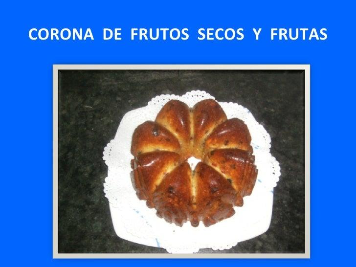 Corona  de  frutos  secos  y  frutas