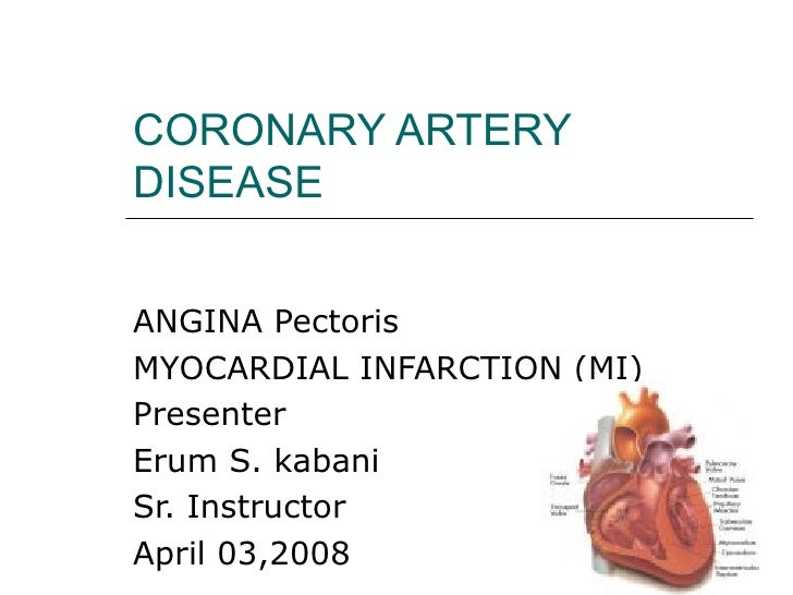Coronary Artery Disease Cvs 2 Es (1)