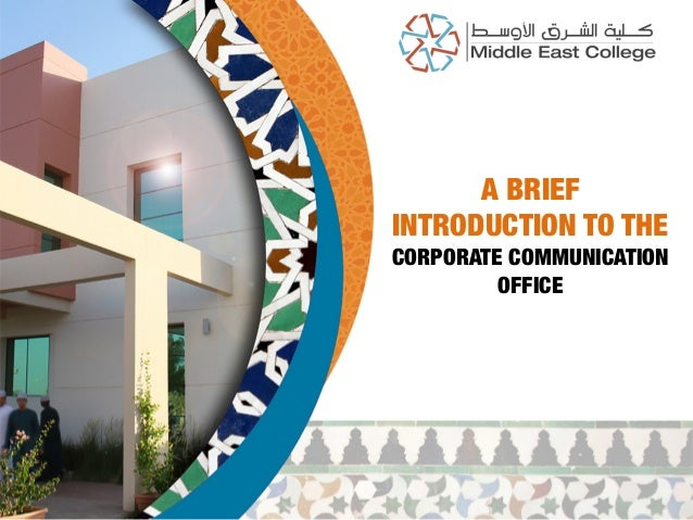 Middle East Corp. Communication Office