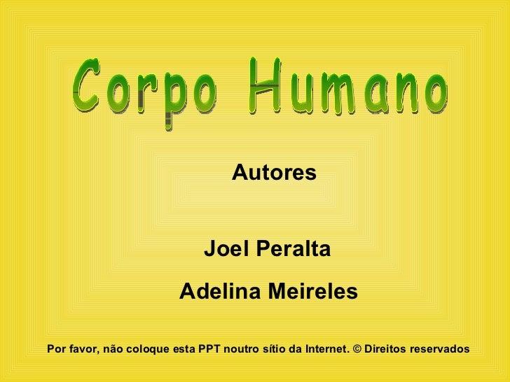 Corpo Humano - vários sistemas