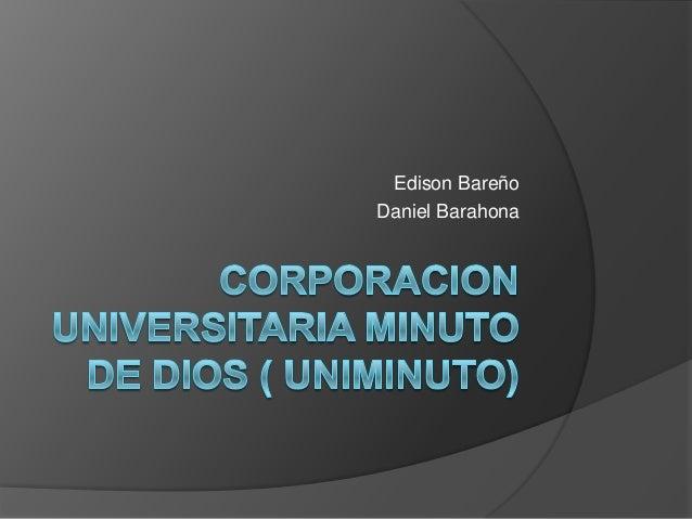 Edison BareñoDaniel Barahona