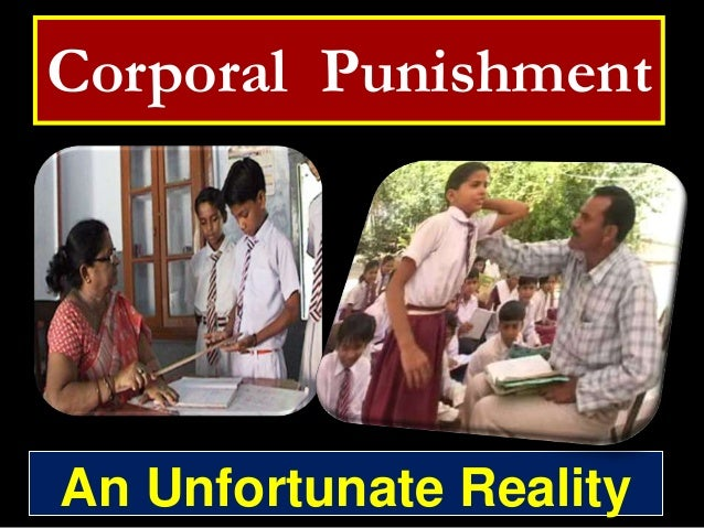 Corporal Punishment  An Unfortunate Reality