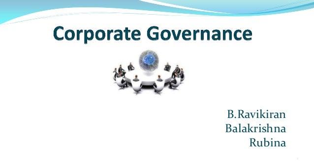 Corporarate governance