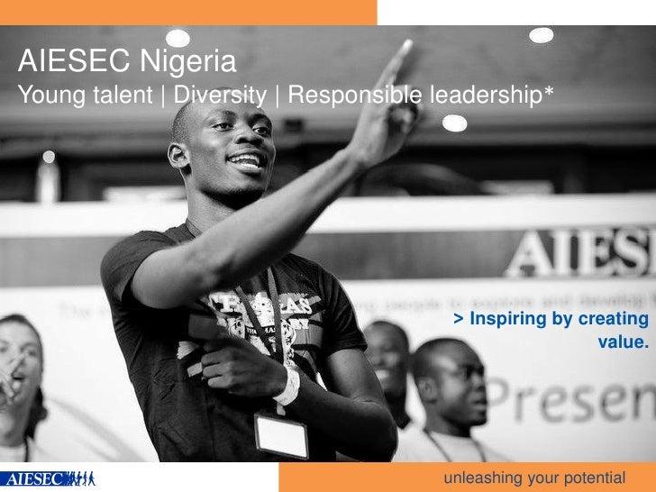 AIESEC Nigeria Corporate Portfolio