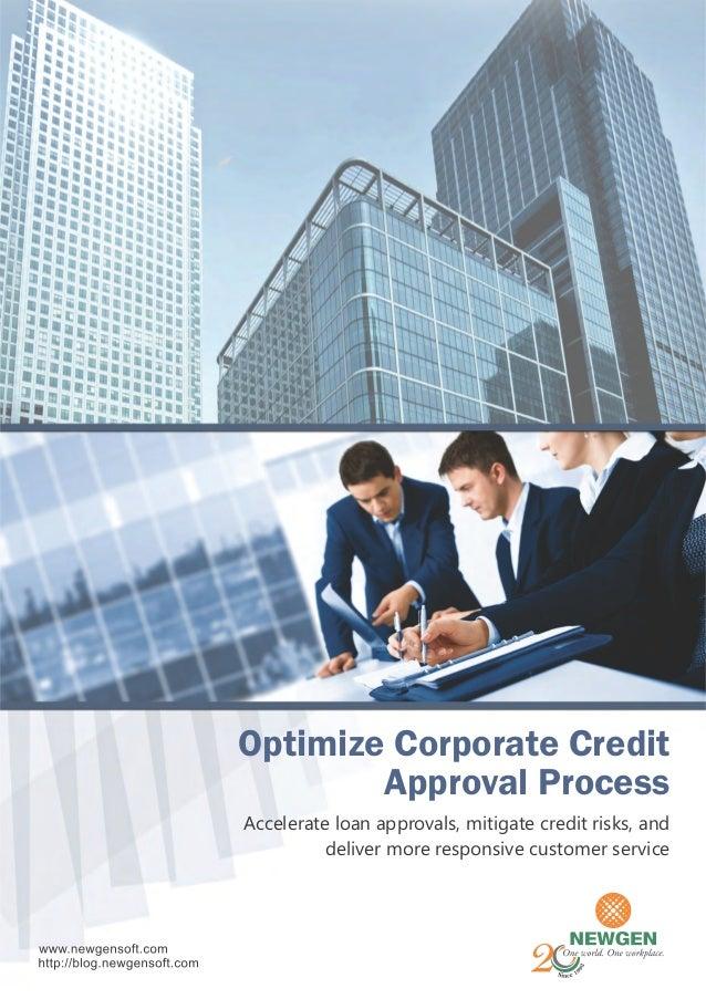 Corporate Credit Process Simplified
