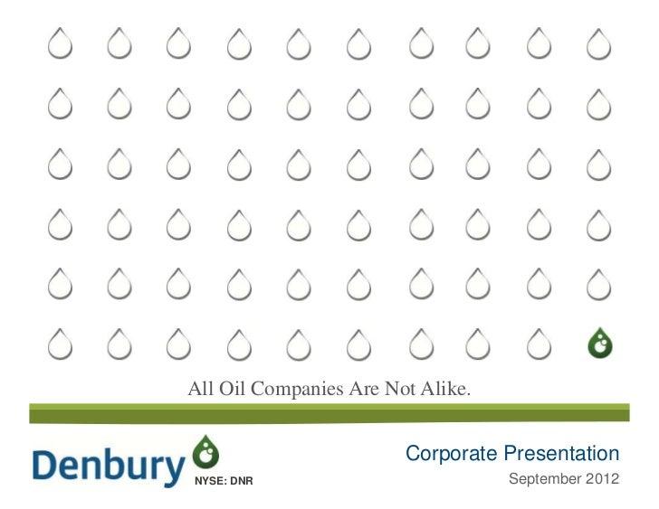 September Corporate Presentation  Bakken Transaction