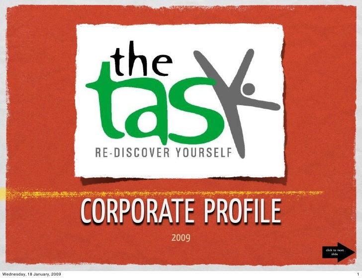 The Task Corporate Profile