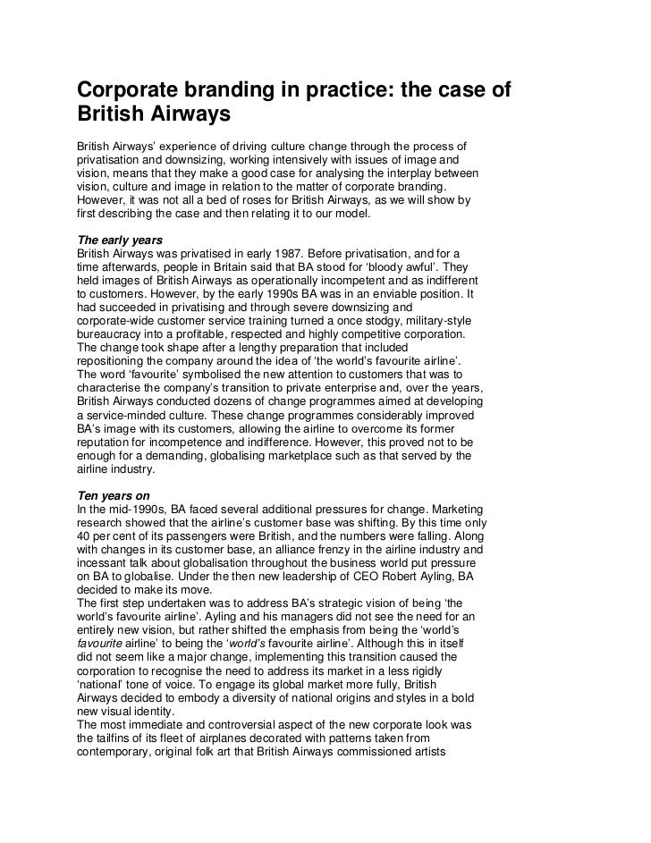 british air essay This essay has been submitted by a law student this is not an example of the  work written by our professional essay writers.