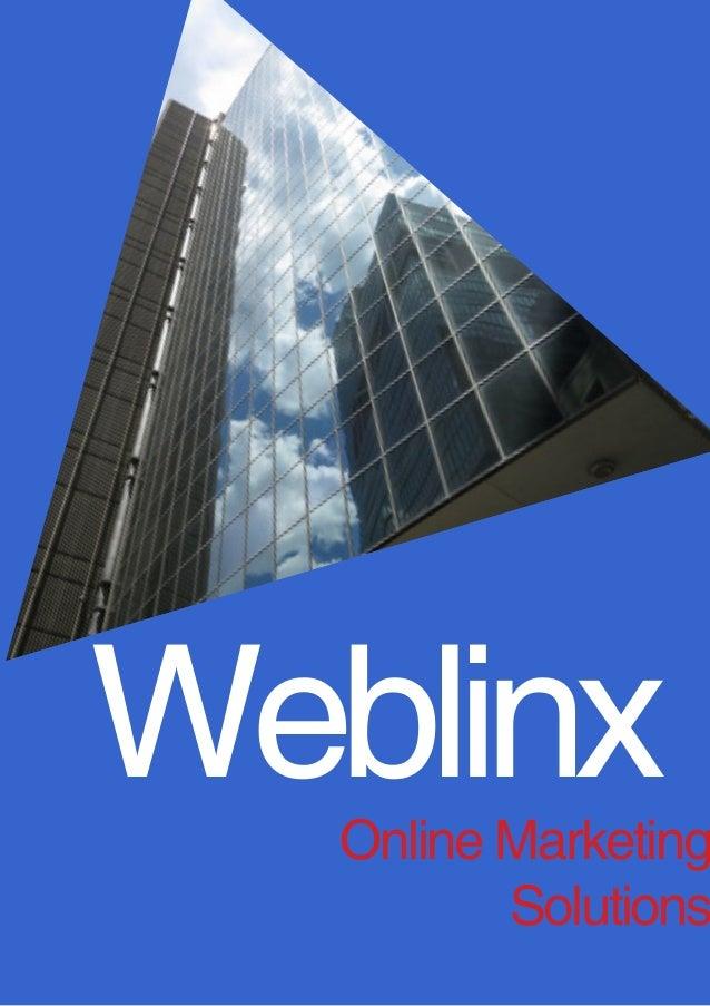 Weblinx  Online Marketing Solutions