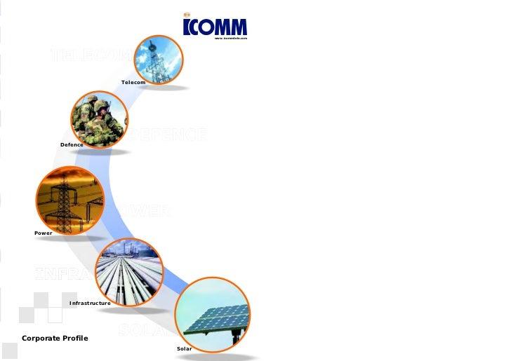 www.icommtele.com                              Telecom           Defence   Power             InfrastructureCorporate Profi...