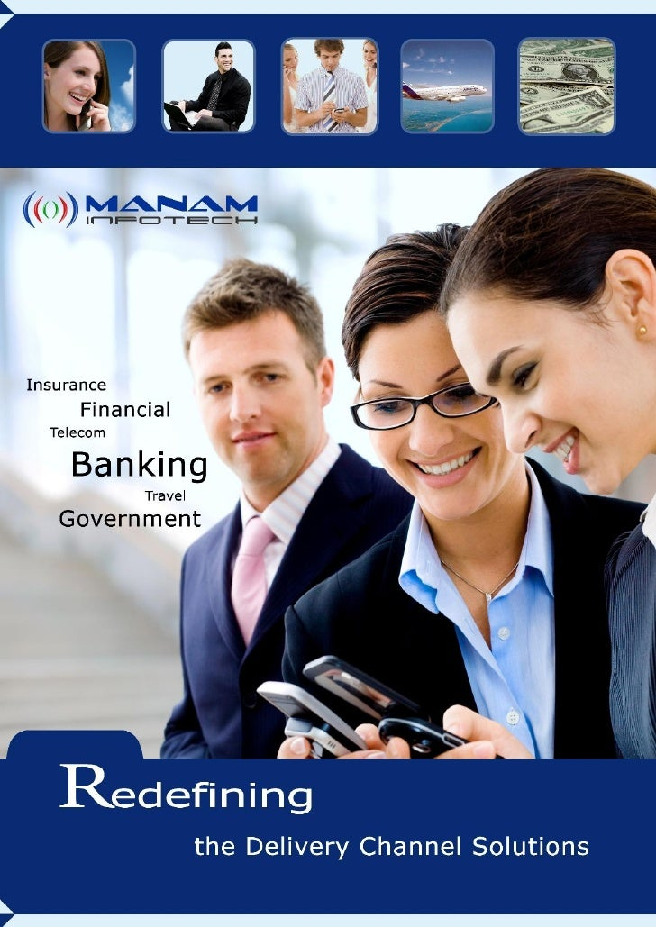 Corporate Brochure Manam Infotech