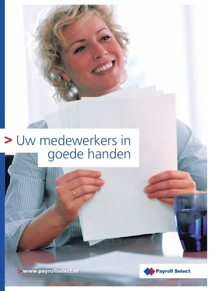 Corporate Brochure Payroll Select Nederland B.V.