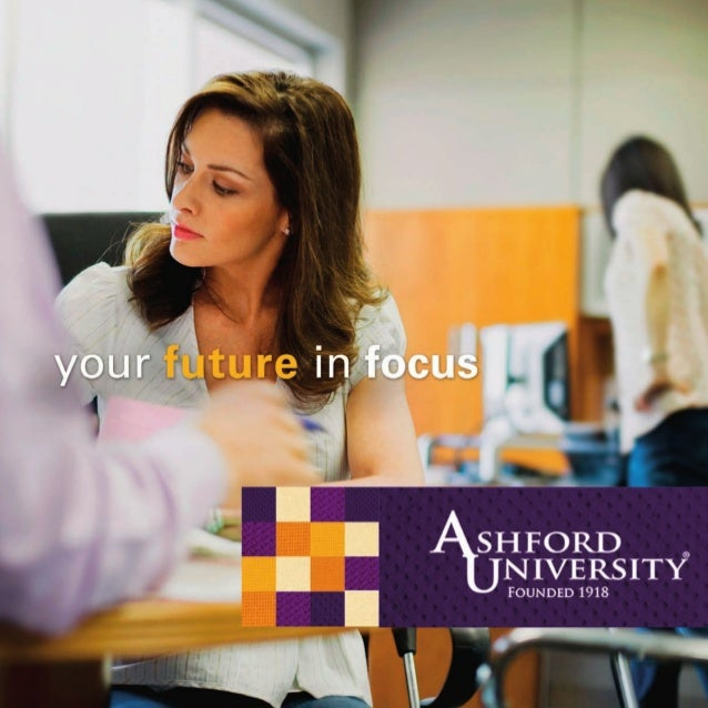 When you enroll at Ashford University, you bring your future into focus. Sharpen your vision for yourself – in your curren...