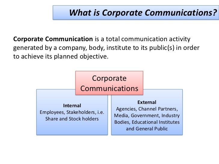 public relations is a corporate communications marketing essay 1 pr metrics: how to measure public relations and corporate communication jim macnamara phd, fpria, fami, cpm, famec background today, in both the public.