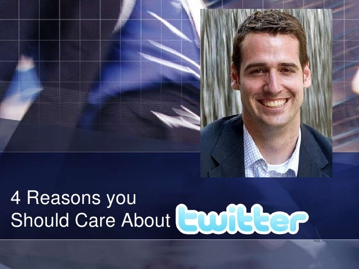 ACLA: 4 Reasons you Should Care About Twitter
