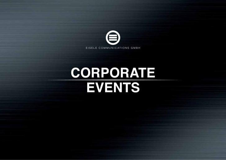 Eisele Communications GmbH                                               DIE AGENTUREisele Communications GmbH hat sich al...