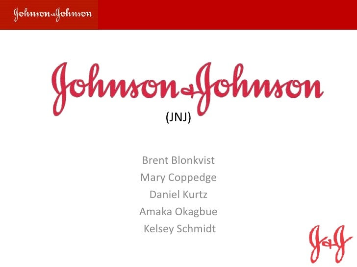 Background   Financials   Valuation   Recommendations             (JNJ)        Brent Blonkvist        Mary Coppedge       ...