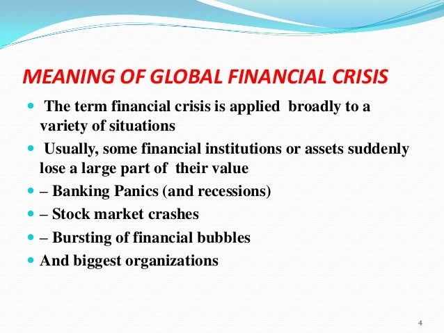 5 of the World's Most Devastating Financial Crises
