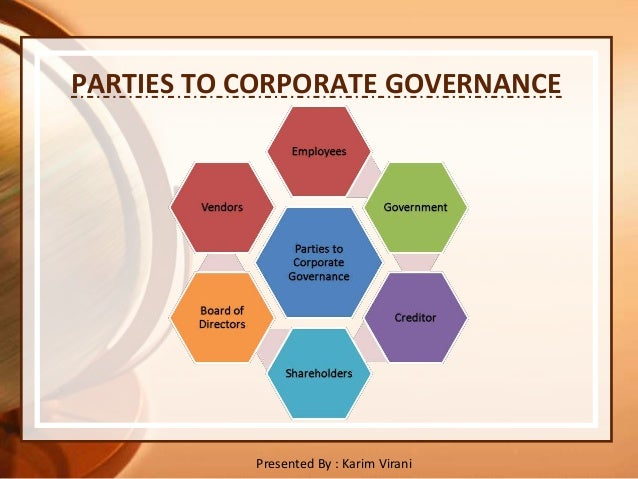 essay on elements of good corporate governance Scientific papers (www  incorporating elements of corporate governance, risk and control  corporate governance – a key element of the entity .