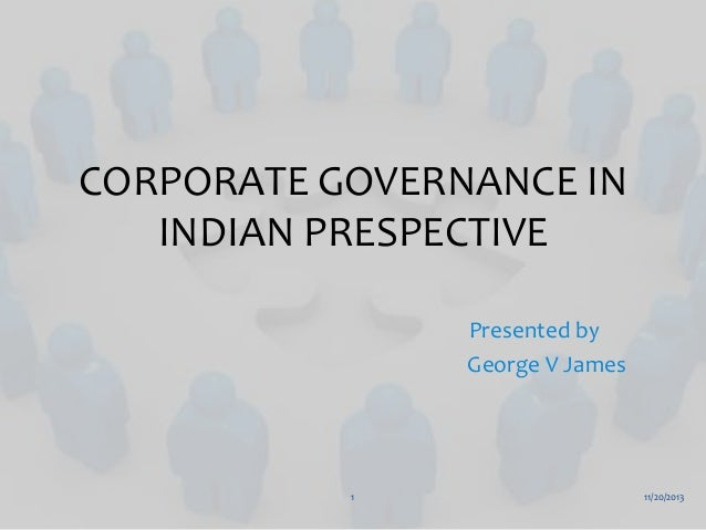 Corporate Governance In Indian Prespective