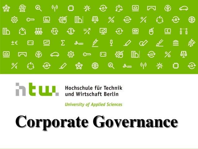 Referent · 06.11.2015 1 von xx Seiten Corporate Governance