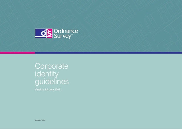 Corporate identity guidelines Version 2.2 July 2003  Opt 48398 0703