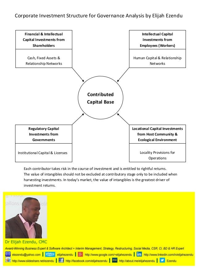 Corporate Investment Structure for Governance Analysis by El