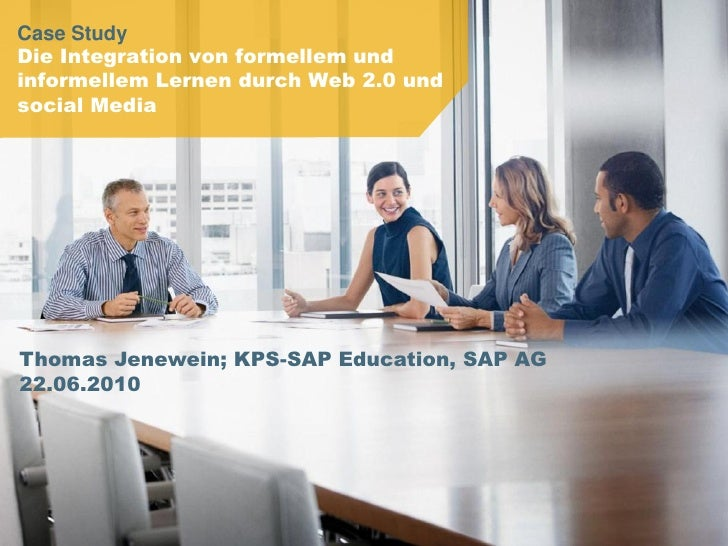 Die Integration von formellem und informellem Lernen durch Web 2.0 und social Media