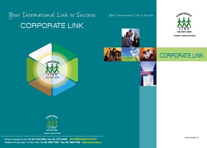 Corporate Link Brochure