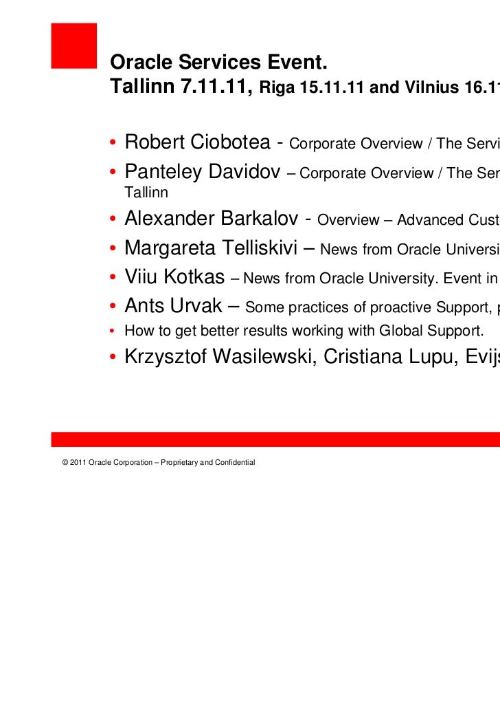 Corporate overview the services story
