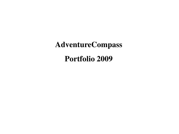 AdventureCompass Destinations