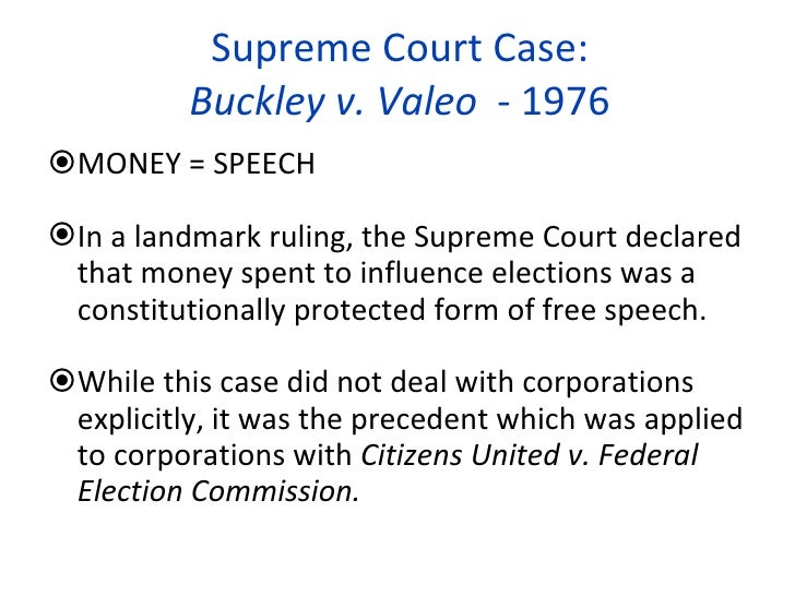 citizens united case Citizens united v on september 9, 2009, the court re-heard arguments in the case the following is a statement by cac's president and founder.