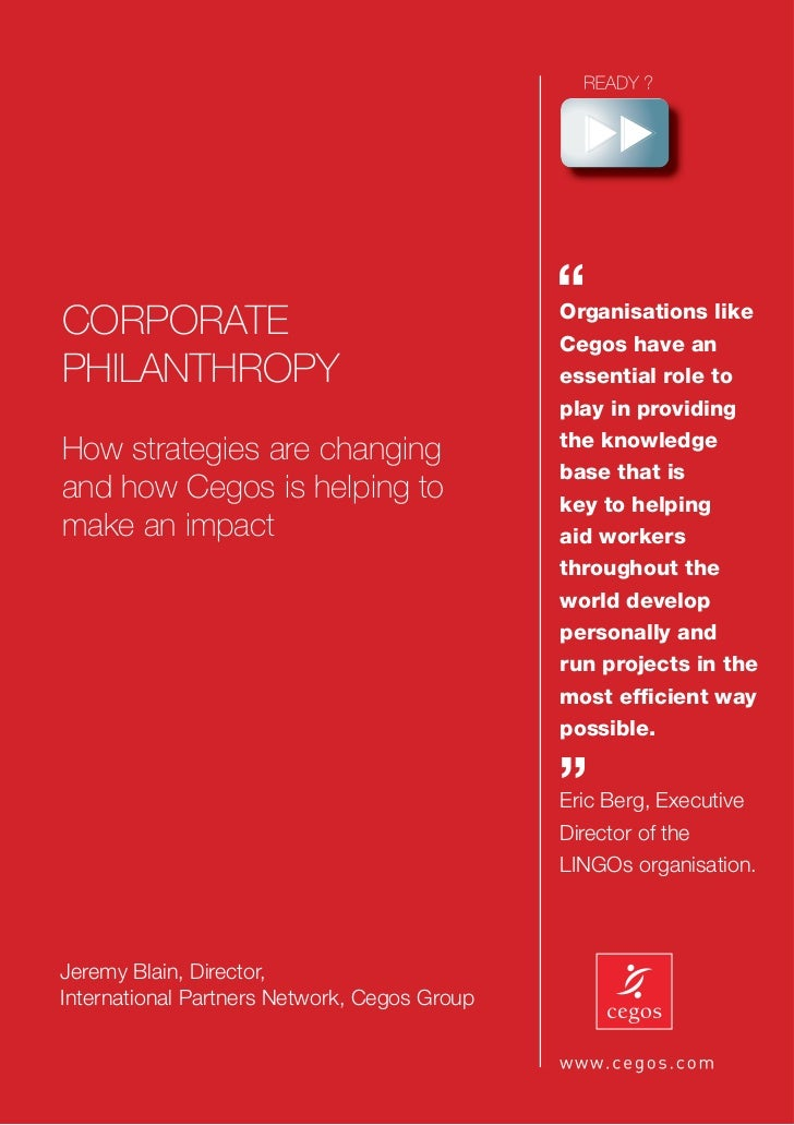 "CORPORATE                                              ""                                              Organisations like  ..."