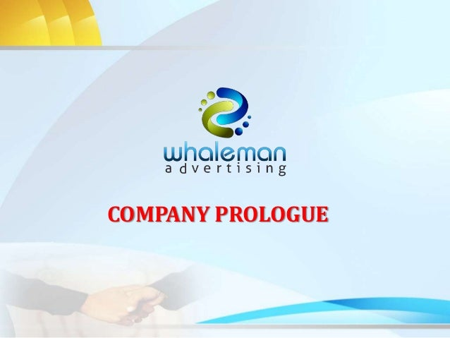 how to write a advertising company profile