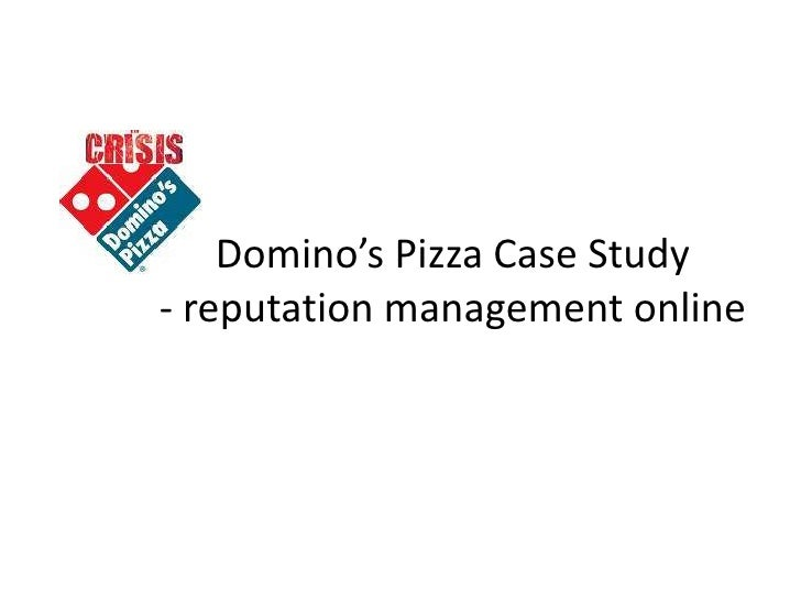 Domino's pizza - Case Study Example