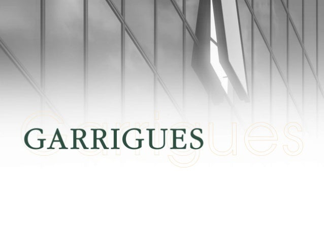 Garrigues Lawyers: Corporate Presentation 2014