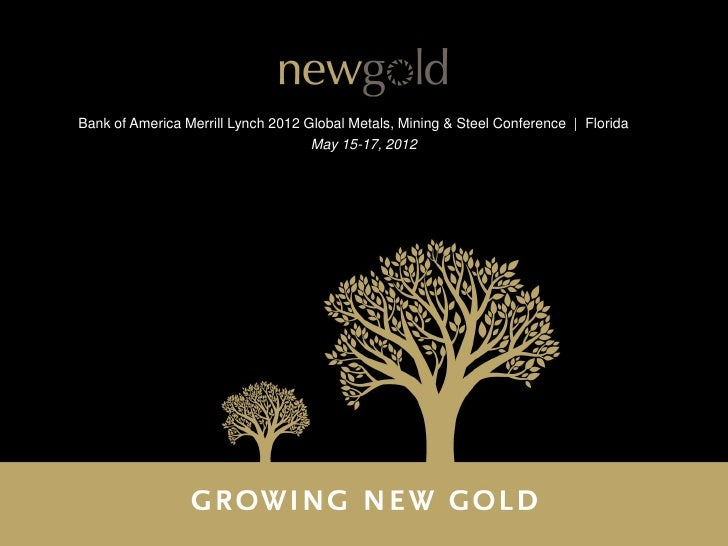 Bank of America Merrill Lynch 2012 Global Metals, Mining & Steel Conference | Florida                                    M...