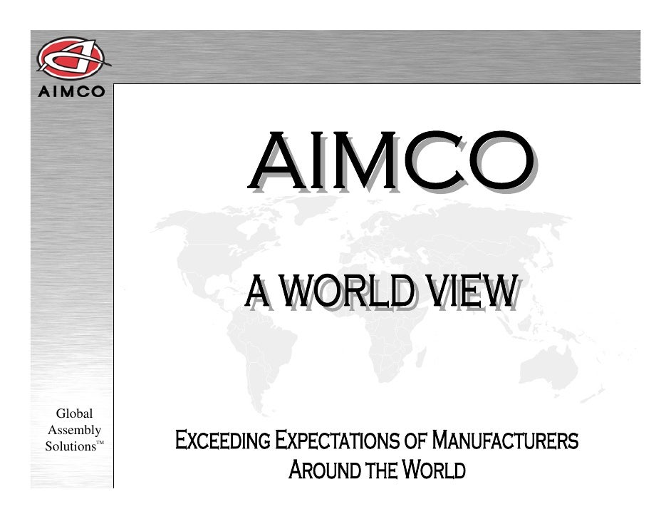 An Introduction to AIMCO