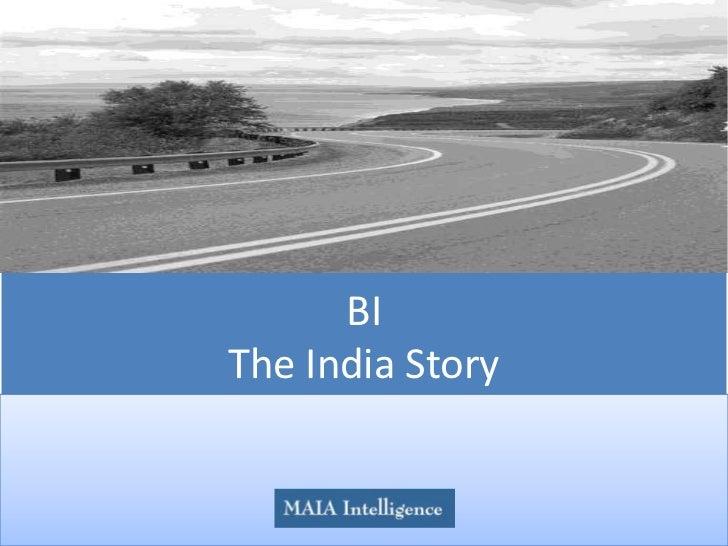 BIThe India Story