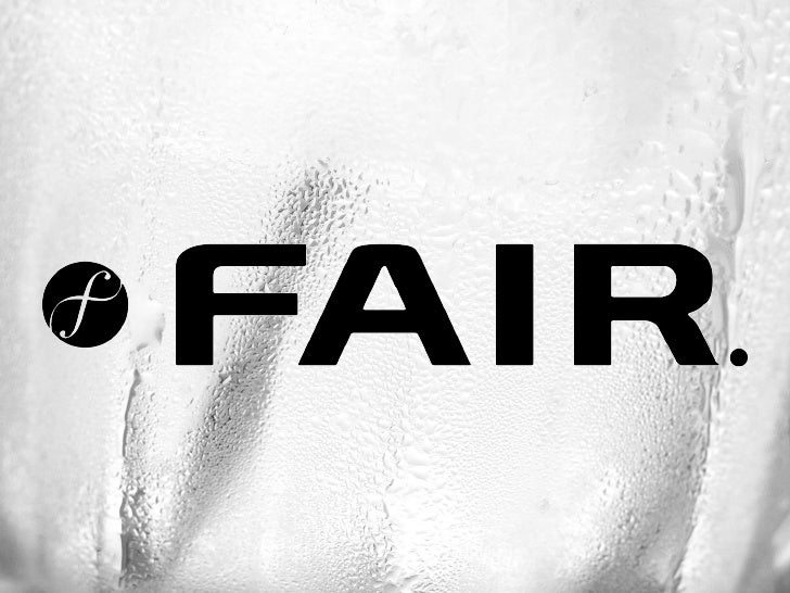 BRAND PRESENTATION      A new Spirits Category   FAIR™ anounces the rise of transparent and sustainable ethics in ultra pr...