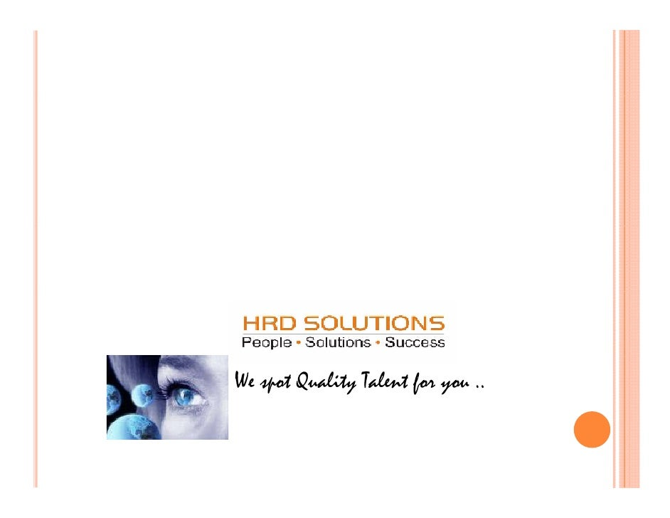 Corporate Presentation Hrd Solutions