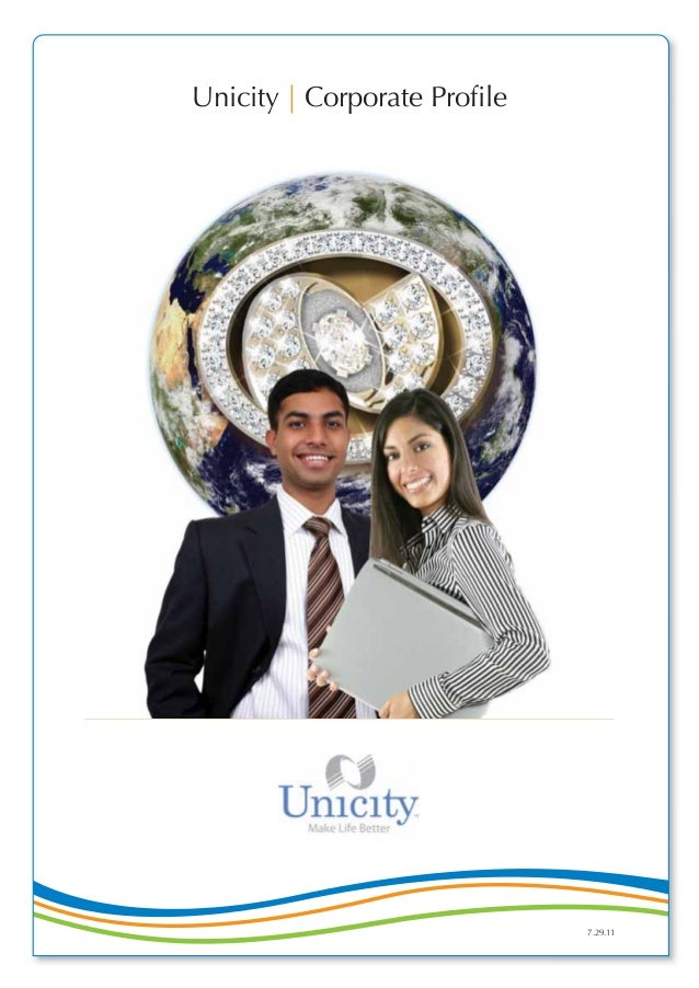 Unicity   Corporate Profile 7.29.11