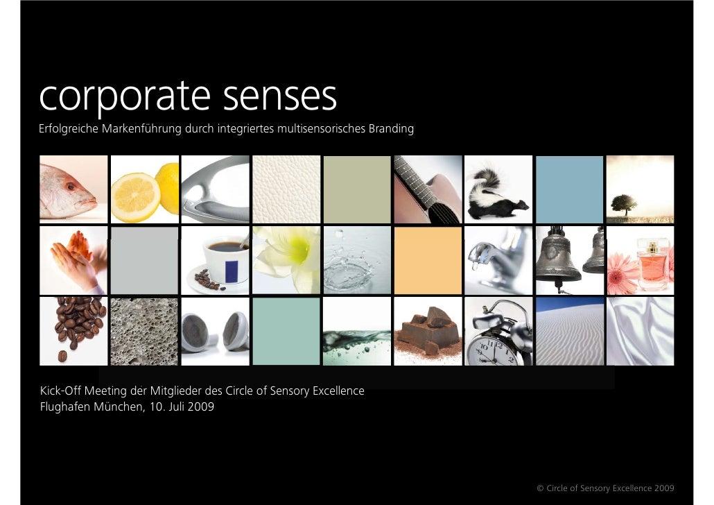RED       BRANDING     corporate senses Erfolgreiche Markenführung durch integriertes multisensorisches Branding     Kick-...