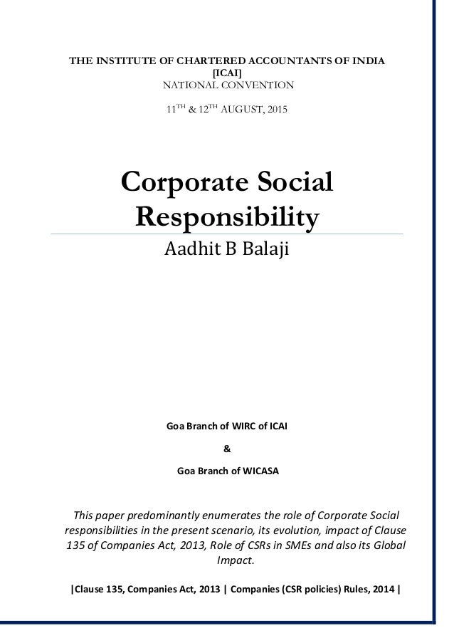 trend of corporate social responsibility csr in uk essay Before analyzing more extensively the corporate social responsibility as a trend  within the companies, i truly believed that the csr practices.