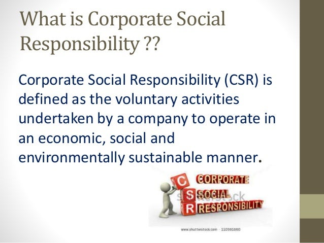 corporate social responsibility in the uci