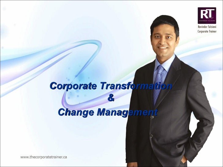 Corporate Transformation & Change Management